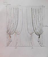 Эскиз - моделирование окна для гостиной