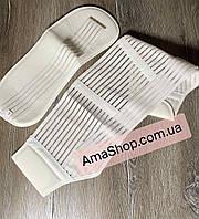 Бандажный пояс для беременных, Универсальный корсет дородовой и послеродовой белый XL