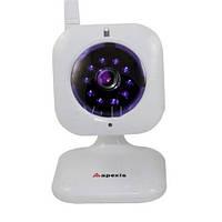 Беспроводная камера LUX-J012-WS: IR-подсветка, датчик движения, Ethernet с передачей видео/аудио потока