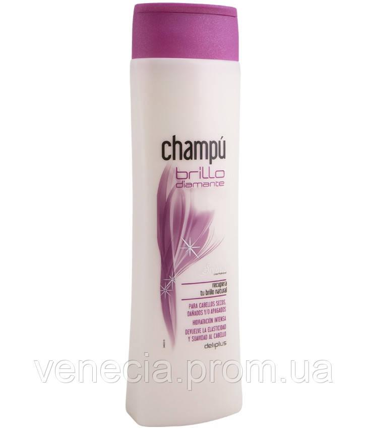 Шампунь для блеска волос «Блеск бриллиантов» Deliplus, 400 мл