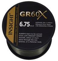 Gardner Леска карповая GR60 X (Леска карповая GR60X, 0.30mm, 10lb (4.5kg) 1408m, GREEN  )