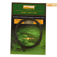 PB Products Готовый лидер PB PRODUCTS TUNGSTEN LOADED LEADER (Готовый лидер PB PRODUCTS TUNGSTEN LOADED LEADER Silt (ил) 100см )