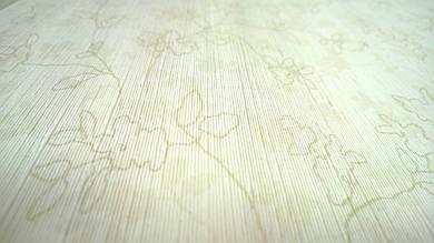 Виниловые обои Carnaby с рисунком, бежевого цвета на бумажной основе. Артикул 42621