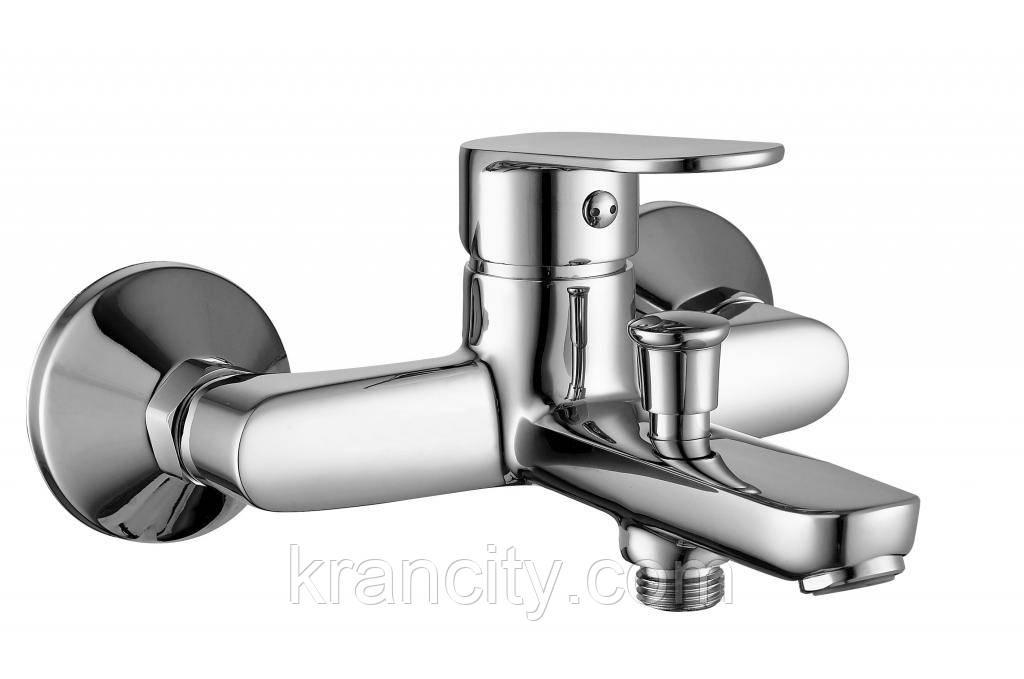 LASKA однорычажный cмеситель для ванной, хром, IMPRESE 10040,кран в ванную,Чехия