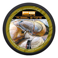 PB Products Шок-лидер PB PRODUCTS  MUSSEL 2 TONE (Шок-лидер PB PRODUCTS  MUSSEL 2 TONE 45 Lb, 20 m )