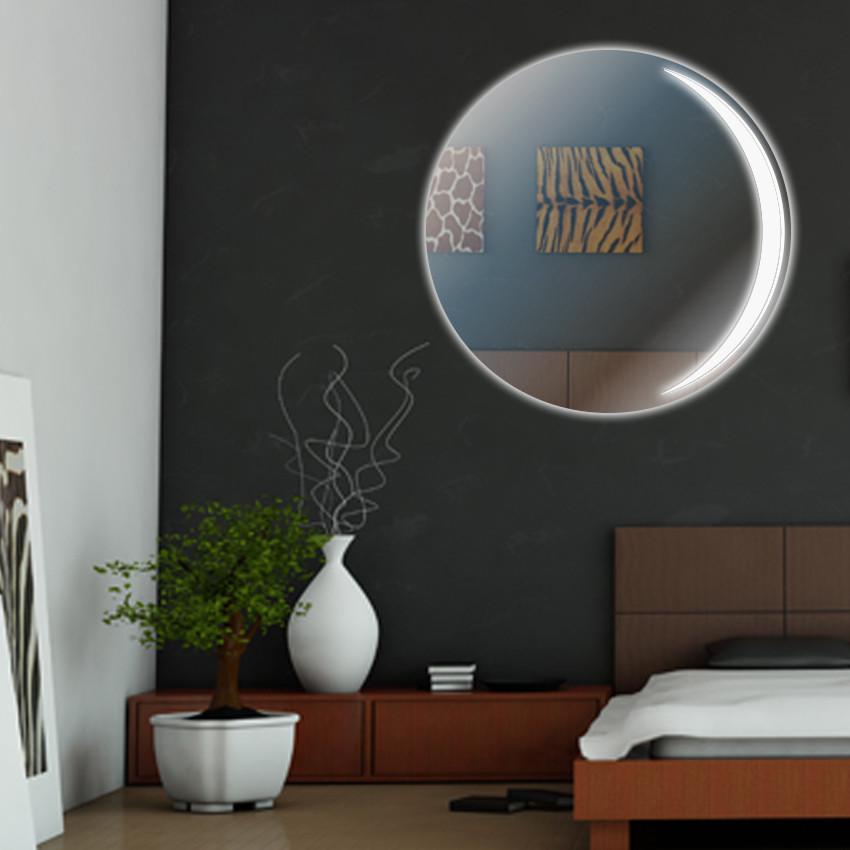 "Круглое зеркало ""Interlunium"" с подсветкой"