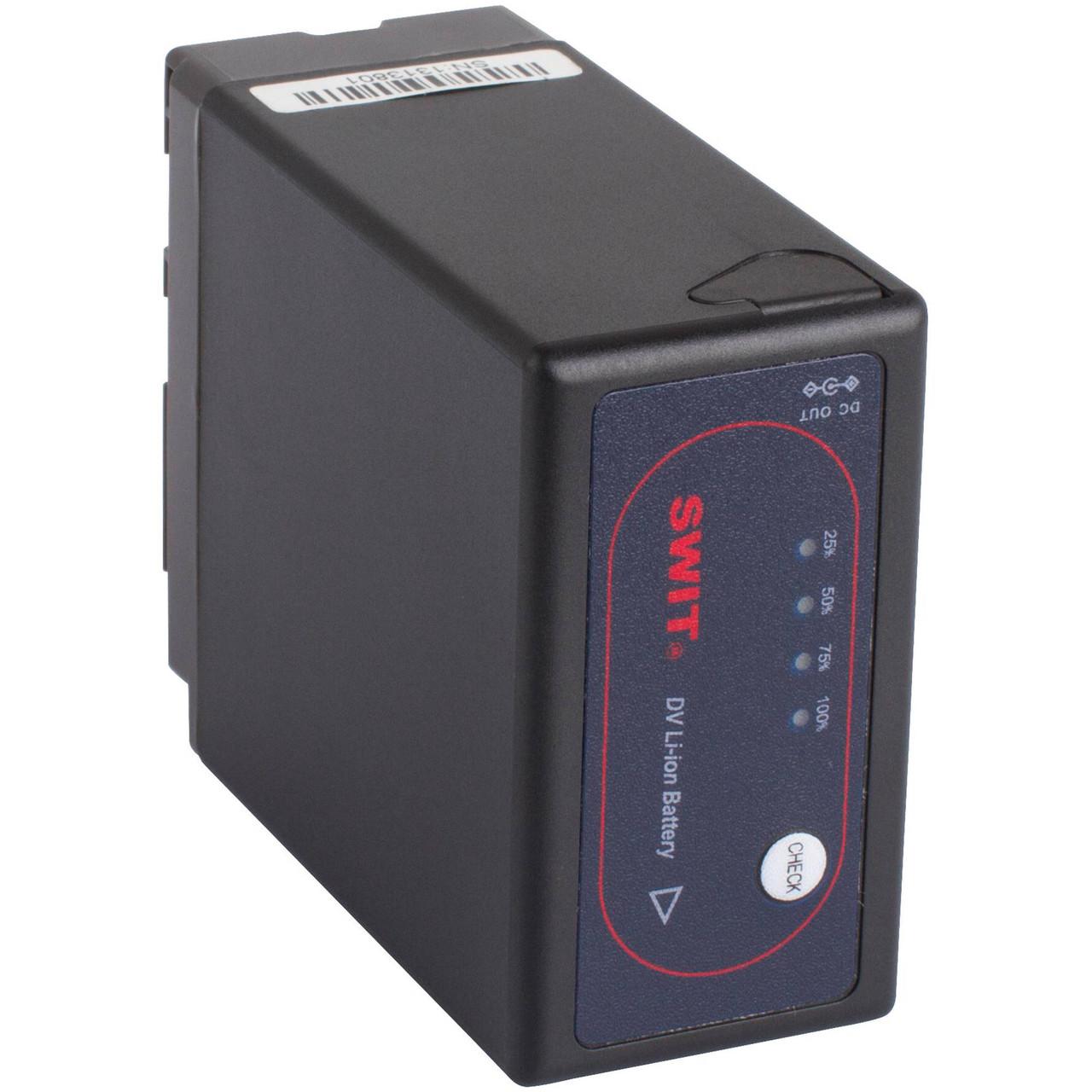 Аккумулятор SWIT S-8BG6 7.2V, 36Wh Replacement Lithium-Ion DV with DC Output for Panasonic VW-VBG6 (S-8BG6)