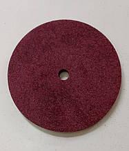 Круг полировальный абразив-пена 125х3х12 Р80 бордо