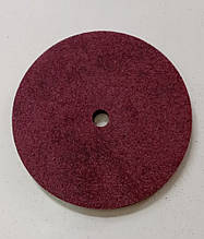 Круг полировальный абразив-пена 125х6х12 Р80 бордо