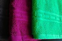 Махровое полотенце 70140 орнамент версачи