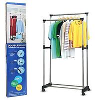 Подвійна стійка, вішалка для одягу - Double Pole Clothes SML (65 см) / ART-0175 (12шт)