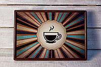Поднос на подушке Чашка чая