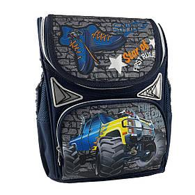 Рюкзак шкільний каркасний Gorangd 31x26x12.5 см 10л Синій (gor45345/1)