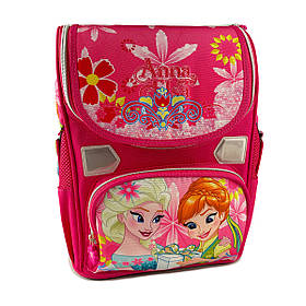 Рюкзак шкільний каркасний Gorangd 31x26x12.5 см 10л Рожевий (gor45345/2)