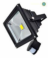 Светодиодный прожектор с датчиком движения Bellson 30 Вт