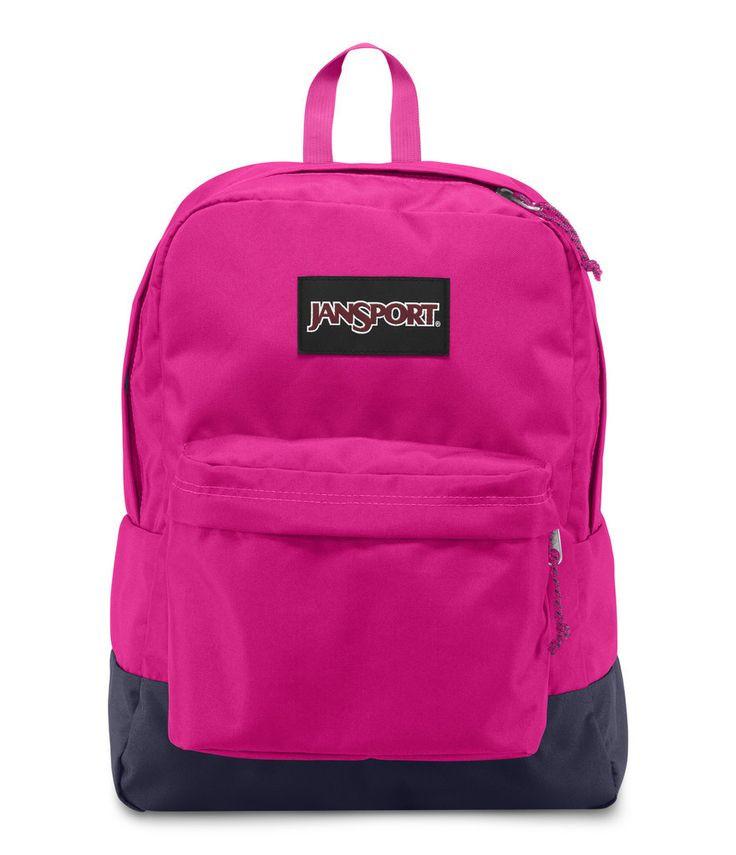 Рюкзак JanSport SuperBreak Backpack (Cyber Pink - Black Label)