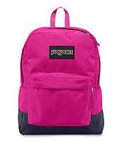 Рюкзак JanSport SuperBreak Backpack (Cyber Pink - Black Label), фото 1