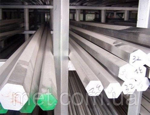 Шестигранник нержавеющий 11 мм сталь 12Х18Н10Т