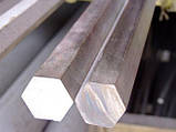 Шестигранник нержавеющий 11 мм сталь 12Х18Н10Т, фото 4