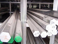 Шестигранник нержавеющий 12 мм сталь 12Х18Н10Т