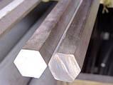 Шестигранник нержавеющий 14 мм сталь 12Х18Н10Т, фото 4