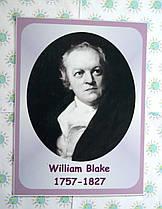 Портреты английских поэтов и писателей William Blake