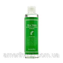 Освежающий тонер с экстрактом чайного дерева SECRET KEY Tea Tree Refresh Calming Toner, 248 мл