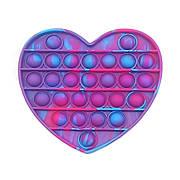 Опт Pop It Антистресс Игрушка - (Поп Ит - Попит - Popit) - Камуфляжное Сердце