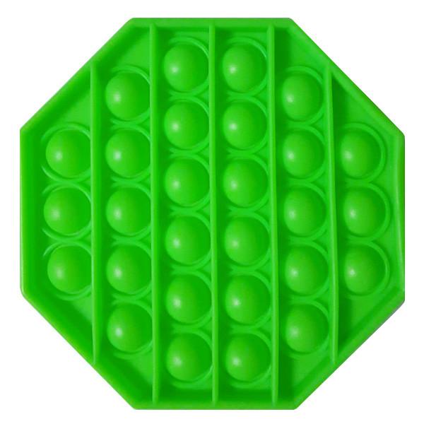 Опт Pop It Антистресс Игрушка - (Поп Ит - Попит - Popit) - Зеленый восьмиугольник
