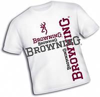 Browning Футболка, T-Shirt, white, Browning (Футболка, #XXL  T-Shirt, white, Browning)