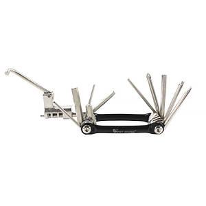 Мультитул West Biking 0719007 карманный набор инструментов 10 в 1 для велосипеда