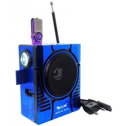 Радіоприймач колонка MP3 Golon RX-188 MIC радіо