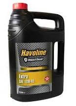 Моторное масло Texaco Havoline Extra SAE 10W-40, 5 л, A3/B4, SN/CF