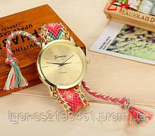 Женские часы GENEVA Женева на тканевом ремешке