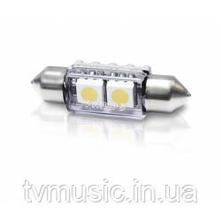 Автолампа Philips Fest (2LED 6000K 12V 1W X1)