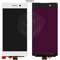 Дисплей + touchscreen (сенсор) для Sony Xperia Z4, оригинал, белый