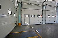Купить гаражные ворота подъемные секционные
