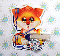 Стенд для рисунка и поделки Котёнок