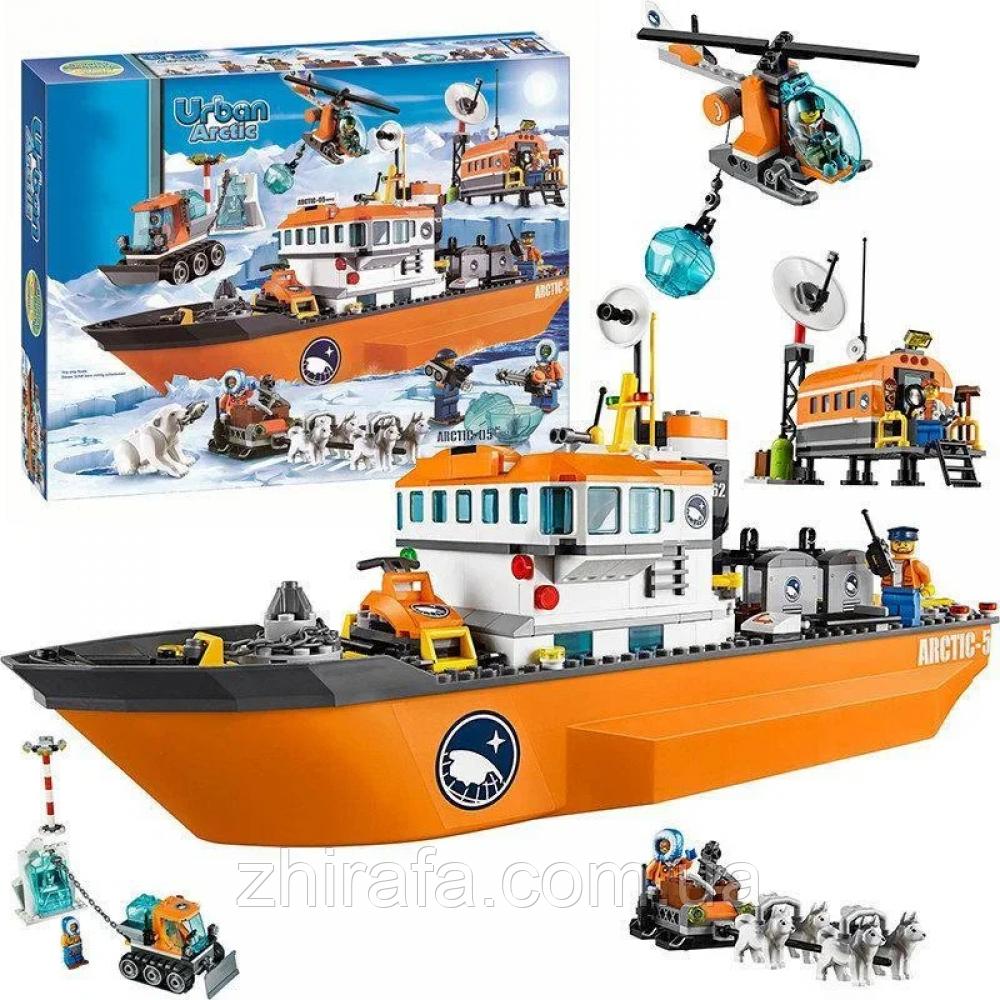 Конструктор лего bela urban arctic Арктический ледокол 760 деталей