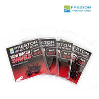 Preston Вертлюг MINI MATCH SWIVELS - SIZE 10 (Вертлюг MINI MATCH SWIVELS - SIZE 10)
