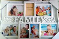 Фоторамка коллаж Family