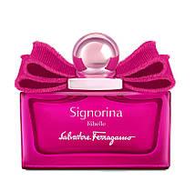 Женская парфюмерная вода, оригинал Salvatore Ferragamo Signorina Ribelle 100 мл (tester)