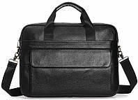 Сумка-портфель мужская кожаная для документов Tiding Bag A25-1131A, фото 3