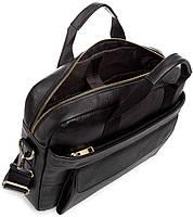 Сумка-портфель мужская кожаная для документов Tiding Bag A25-1131A, фото 4