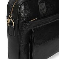 Сумка-портфель мужская кожаная для документов Tiding Bag A25-1131A, фото 6