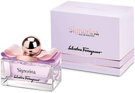 Женская оригинальная туалетная вода Salvatore Ferragamo Signorina 100 мл (tester)