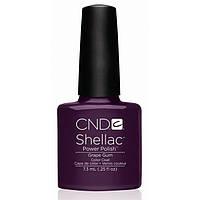НОВИНКА!!! CND Shellac цвет Grape Gum 7,3 мл (фиолетовый с микро блестками)