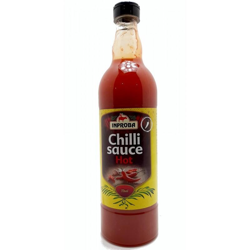 Соус чили острый Inproba Chilli Hot Sause, 700мл, Голландия, в бутылке