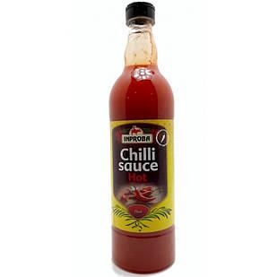 Соус чилі гострий Inproba Hot Chilli Sause, 700мл, Голландія, в пляшці