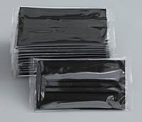 Маска одноразовая в ИНДИВИДУАЛЬНОЙ упаковке трехслойная Арт. 1125 (Черная)